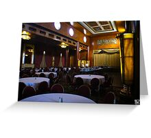 Queen Mary Lounge Greeting Card