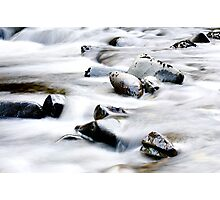 Worn smooth by the ages Photographic Print