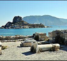 Greece - KOS - Agios Stefanos ruines by Daniela Cifarelli