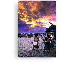 Rasta Voice From Earth To Sky Canvas Print