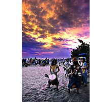Rasta Voice From Earth To Sky Photographic Print