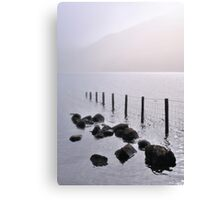 Misty morning, Wastwater Canvas Print