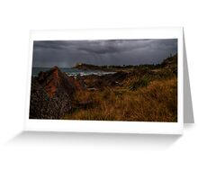 headland forster Greeting Card