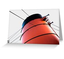 Queen Mary Funnel Greeting Card