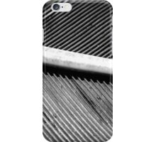 MACRO OF A FEATHER iPhone Case/Skin