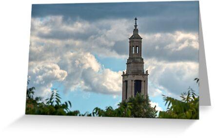 St Luke's Church Spire. by DonDavisUK
