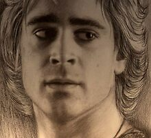 Collin Farrell as Alexander by Siamesecat