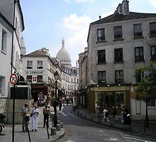 Montmartre Street by chipster