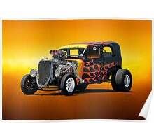1934 Ford Victoria 'Radical Ride' Poster