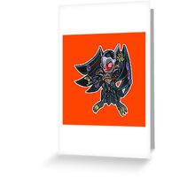 Blackwing - Armor Master Icon - Yugioh! Greeting Card