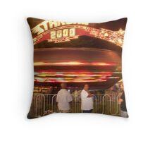 Starship 2000 - Pike Co MS Fair 2010 Throw Pillow