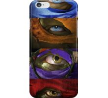 Turtles Masks iPhone Case/Skin