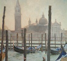 Venise in the morning by David McEwen