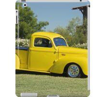 1941 Willys Custom Pickup I iPad Case/Skin