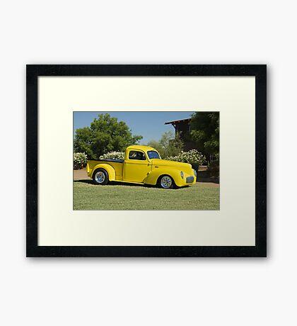 1941 Willys Custom Pickup I Framed Print