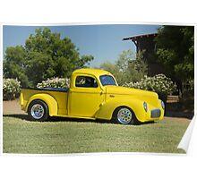 1941 Willys Custom Pickup I Poster