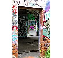 Entrance to the Art Gallery  Photographic Print