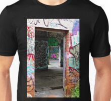 Entrance to the Art Gallery  Unisex T-Shirt