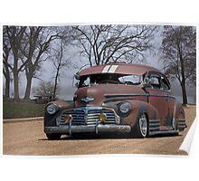 1942 Chevrolet 'Lowrider' Fleetline Sedan Poster