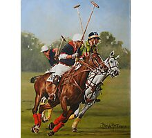 Polo 11 Photographic Print