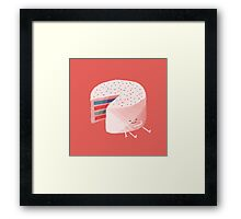 Sugar High Framed Print