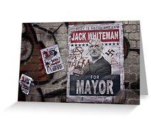 Street Politics Greeting Card