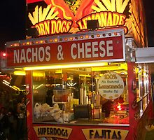 Nachos & Cheese Night Shot - Pike Co MS Fair 2010 by Dan McKenzie