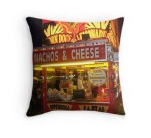 Nachos & Cheese Night Shot - Pike Co MS Fair 2010 Throw Pillow