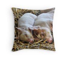 Piggy Back Throw Pillow