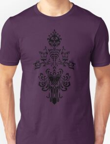 Haunted Mansion Wallpaper Design                         Unisex T-Shirt