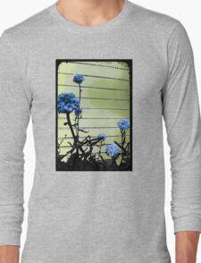 blue carnations Long Sleeve T-Shirt