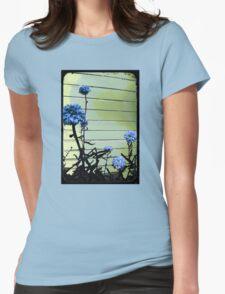 blue carnations Womens T-Shirt