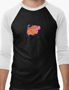 just a small flower Men's Baseball ¾ T-Shirt