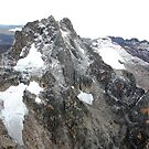 Mount Kenya - Looking South-East towards Batian & Nelion by David Clarke