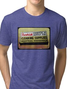 furbish cleaners Tri-blend T-Shirt