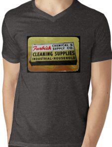 furbish cleaners Mens V-Neck T-Shirt