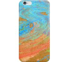 COLOR CHALK ON CEMENT iPhone Case/Skin