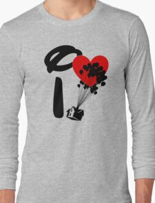 I Heart Adventure Long Sleeve T-Shirt