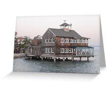 Sea Port Village, San Diego Greeting Card
