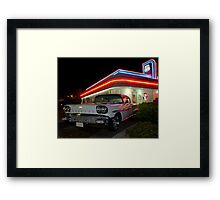 My Dream Car Framed Print