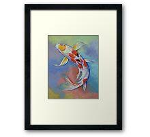 Butterfly Koi Fish Framed Print