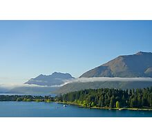 Early morning, Queenstown, South Island, NZ. Photographic Print