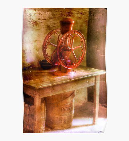 Ye Old Coffee Grinder Poster