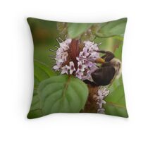 Necter Collector Throw Pillow