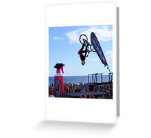 Am i upside down ? Greeting Card