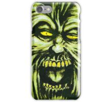 Ruffian, Horror Painting iPhone Case/Skin
