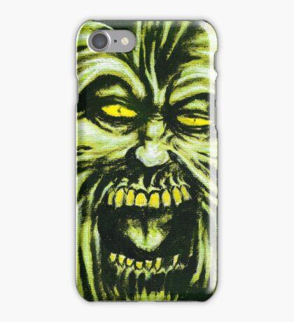Ruffian, Horror Painting iPhone Case/Skin
