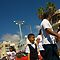 Family walking to Eid ul-Fitr celebrations, Israel by MikeyLee