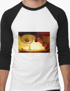 architectural details of a ceiling Men's Baseball ¾ T-Shirt