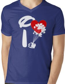 I Heart Adventure Mens V-Neck T-Shirt